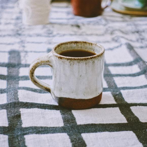 Espresso cup white