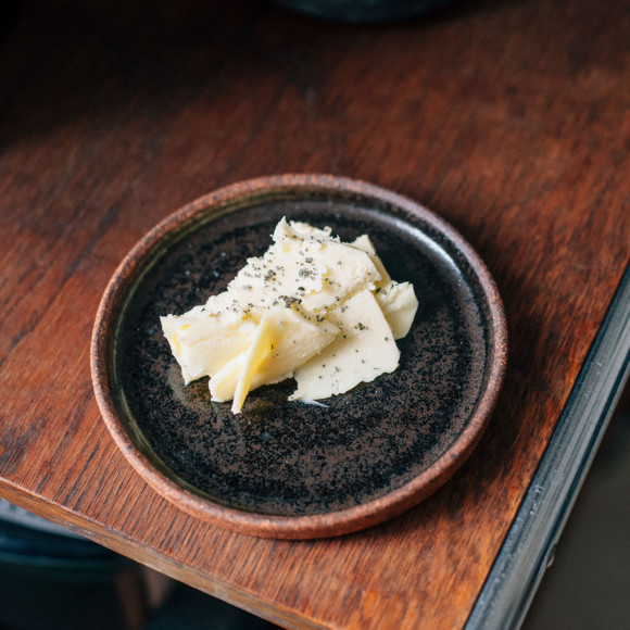 Black Butter plate