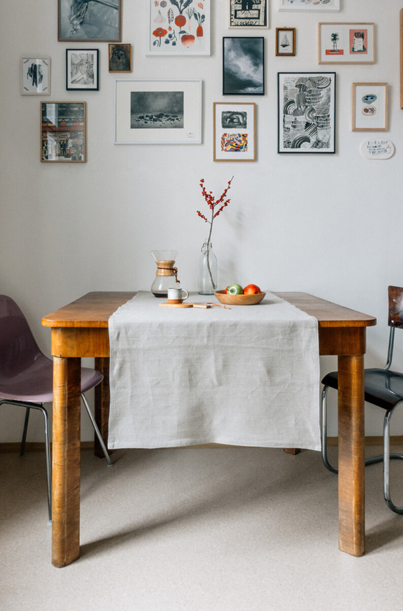 Linen table runner / basic