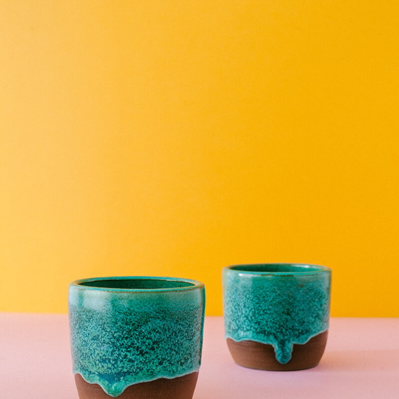Persian green cup