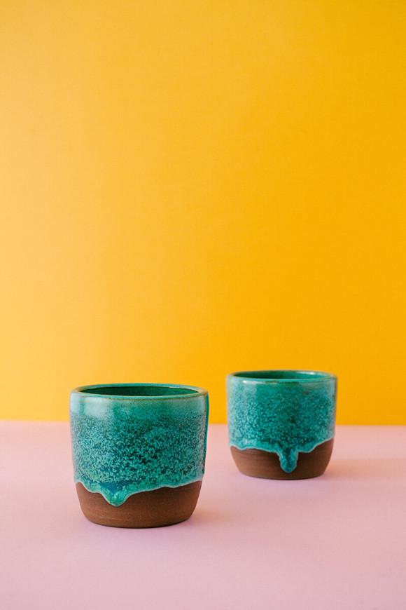 Persian green cup