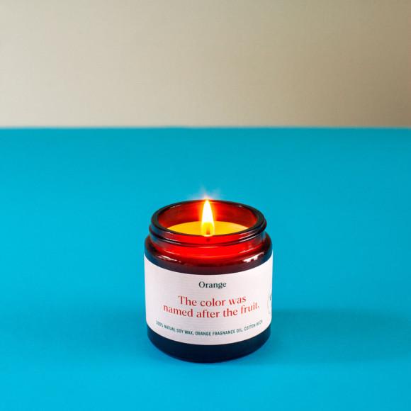 Orange Soy Candle