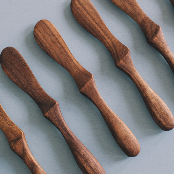 Wooden butter knife / no.1