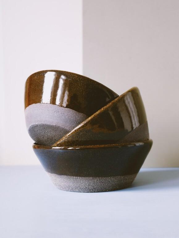 Black breakfast bowl SAMPLE SALE