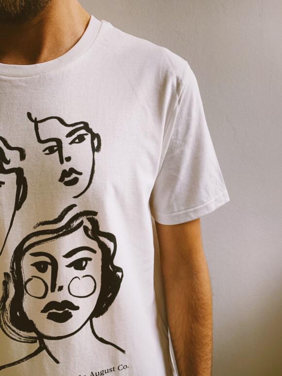 Lozari Beach Faces / Limited T- Shirt Edition