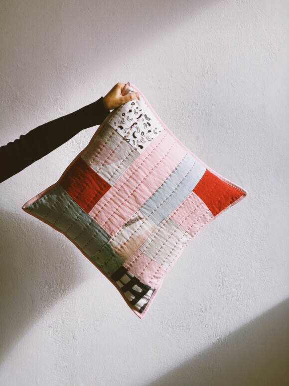 Quilted cushion no.3