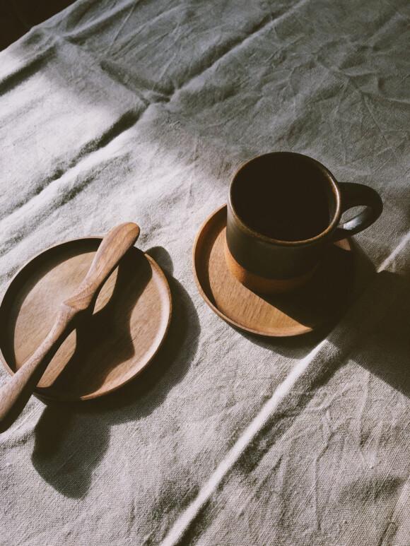 Wooden Saucer
