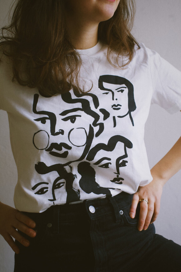 Lozari Beach Faces II / Limited T-Shirt Edition