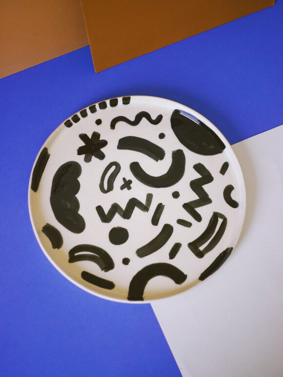 Shapes lunch plate / Limited edition no.36