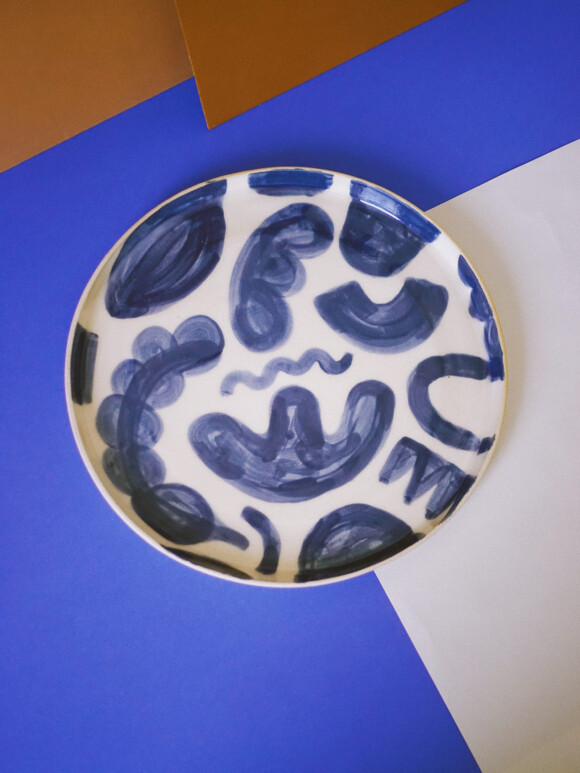 Shapes lunch plate / Limited edition no.37
