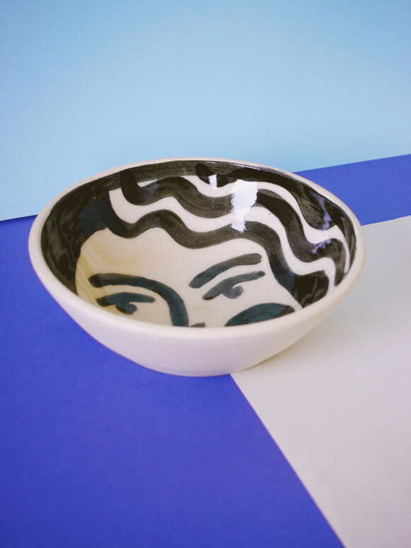 Faces breakfast bowl / Limited edition no.26