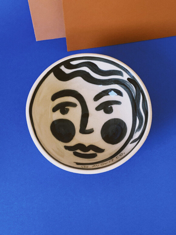 Faces breakfast bowl / Limited edition no.7