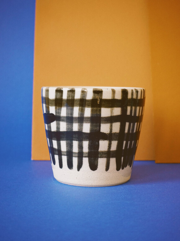 Medium Checked mug / Limited edition no.17