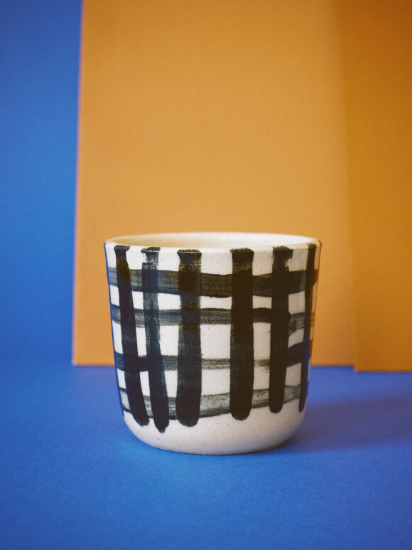Small Checked cup / Limited edition no.5
