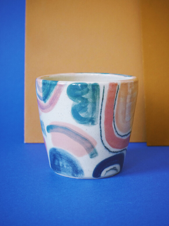 Medium Colourful mug / Limited edition no.14