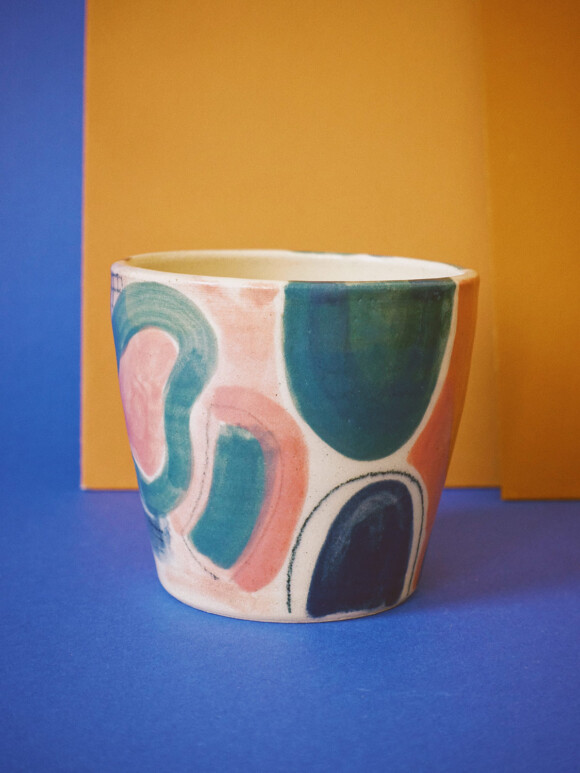 Medium Colourful mug / Limited edition no.18