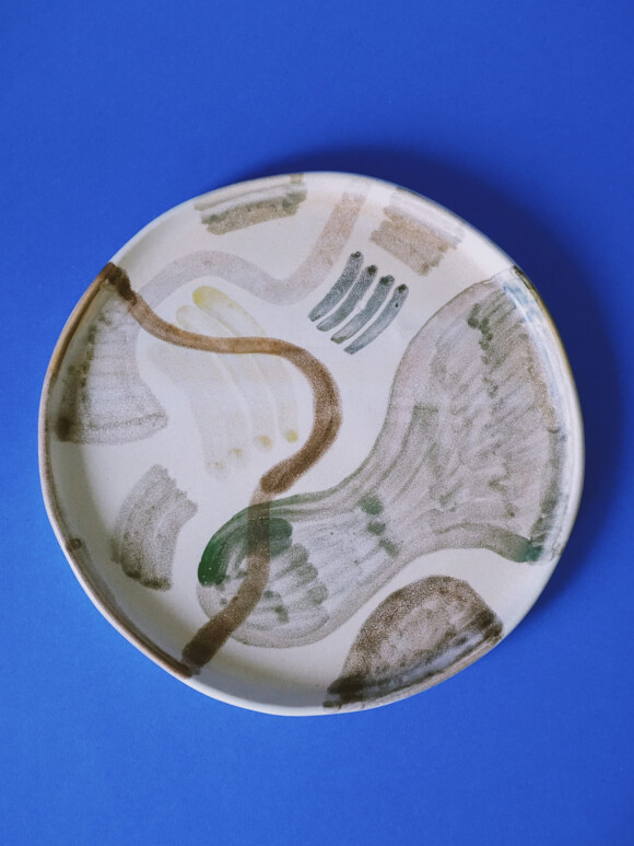 Painted lunch plate / Sample Sale no.1