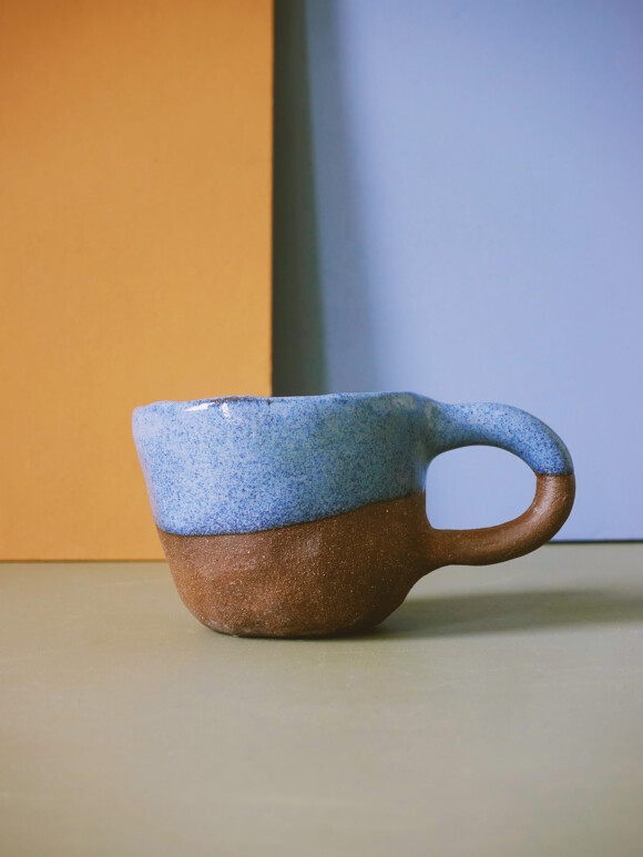 Blue mug / Limited edition no.48