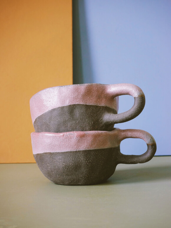 Pink mug / Limited edition no.47