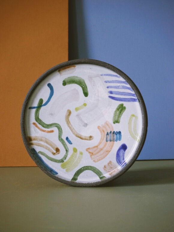 Shapes butter plate / Limited edition no.45