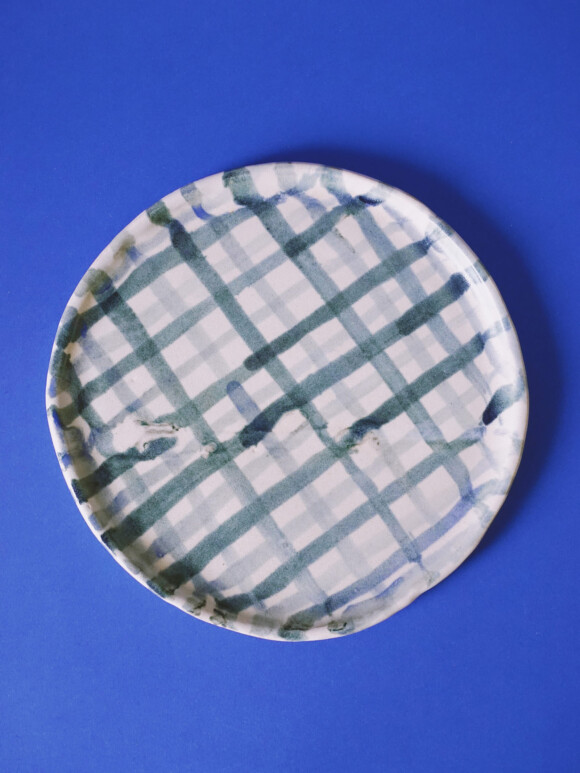 Painted lunch plate / Sample Sale no.3