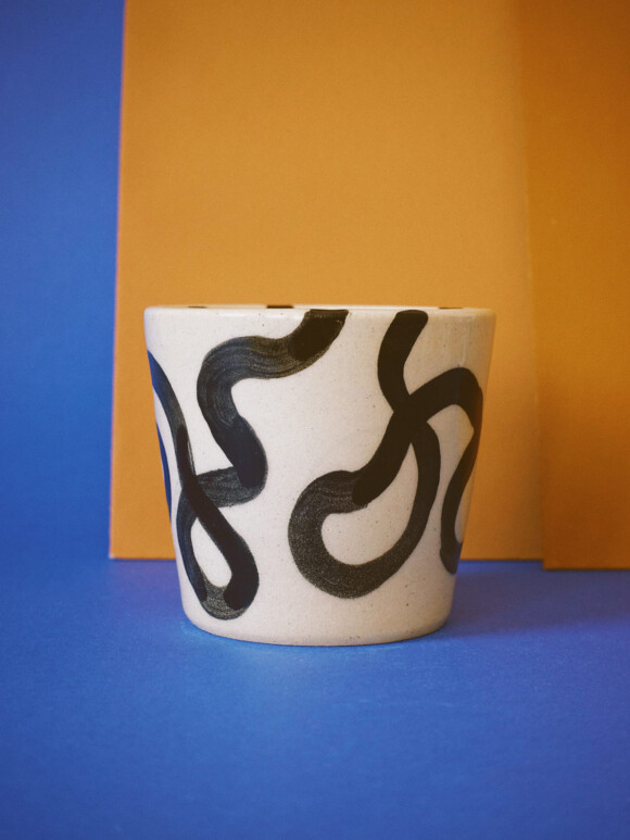 Medium Wavy lines mug / Limited edition no.20