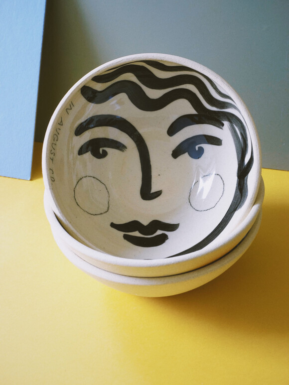 Faces breakfast bowl / Limited edition no.28
