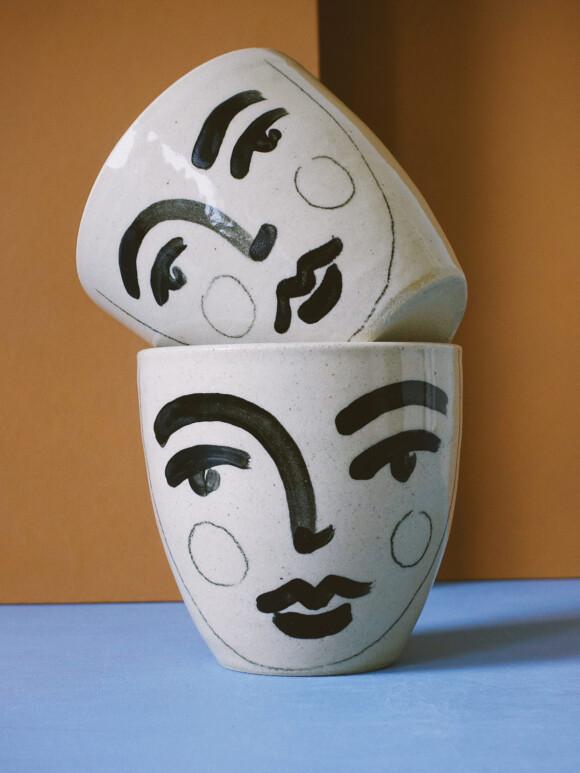 Medium Faces mug / Limited edition no.24