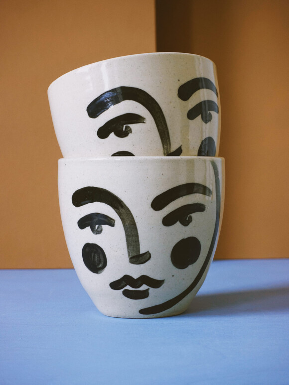 Medium Faces mug / Limited edition no.51