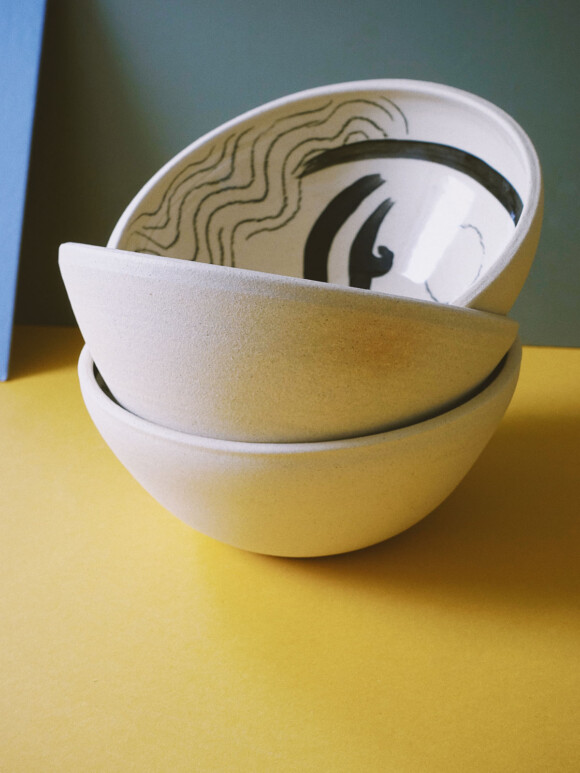 Faces breakfast bowl / Limited edition no.27