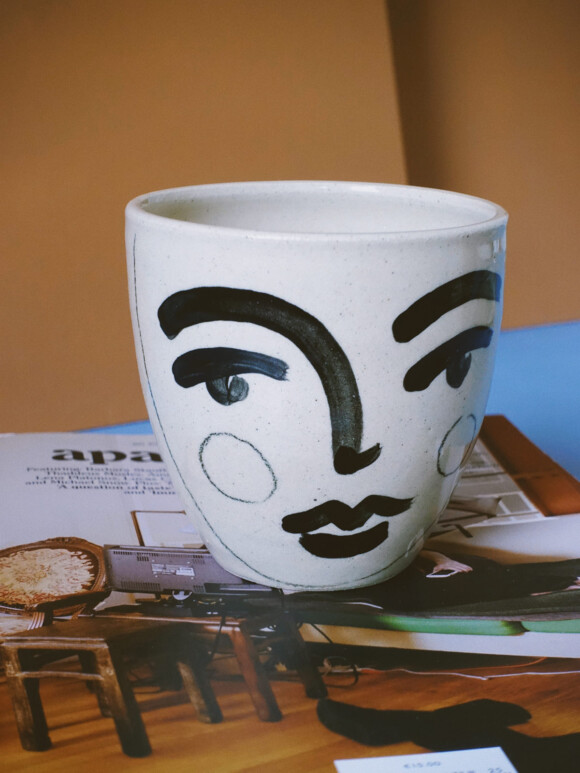 Medium Faces mug / Limited edition no.24