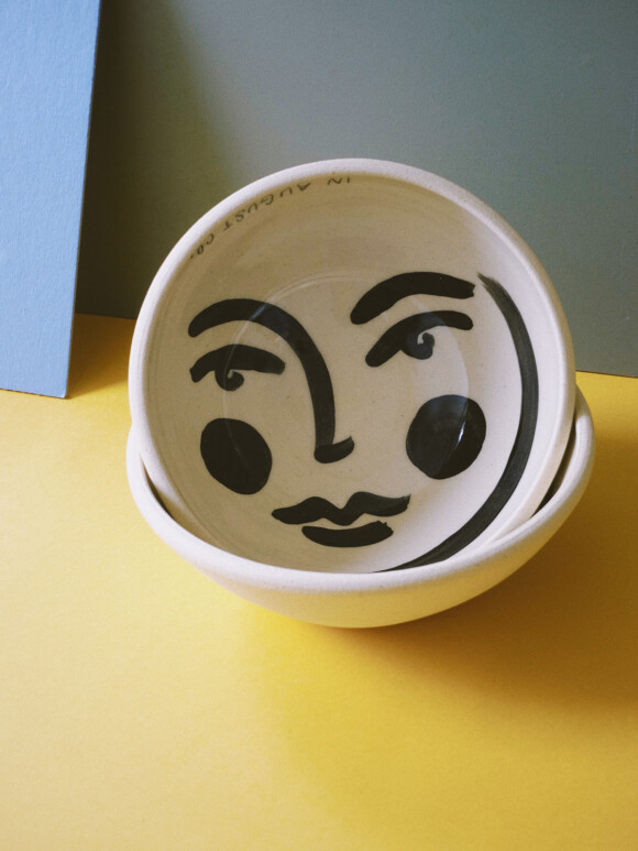 Faces breakfast bowl / Limited edition no.25