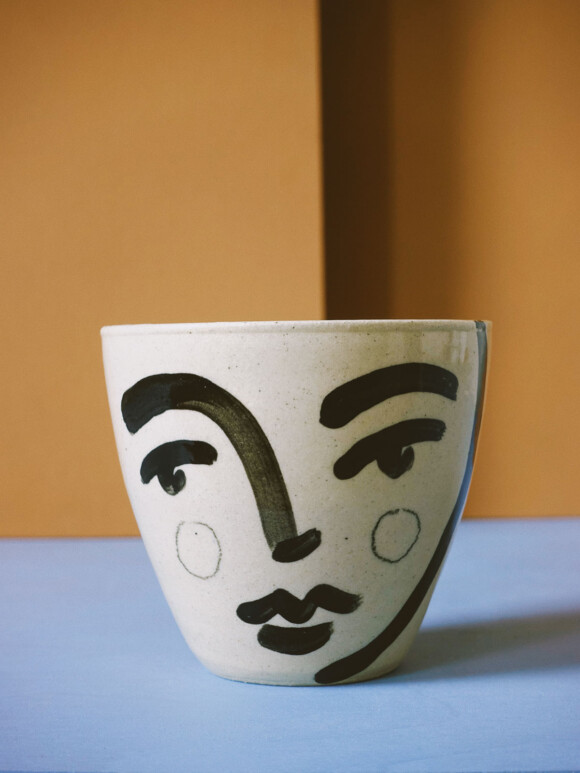 Medium Faces mug / Limited edition no.52