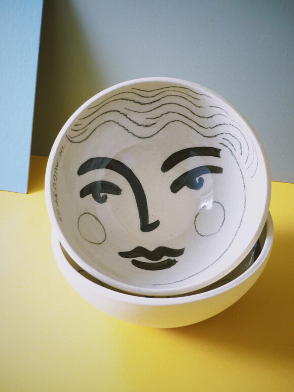 Faces breakfast bowl / Limited edition no.52