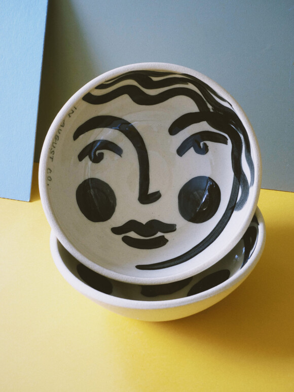 Faces breakfast bowl / Limited edition no.43