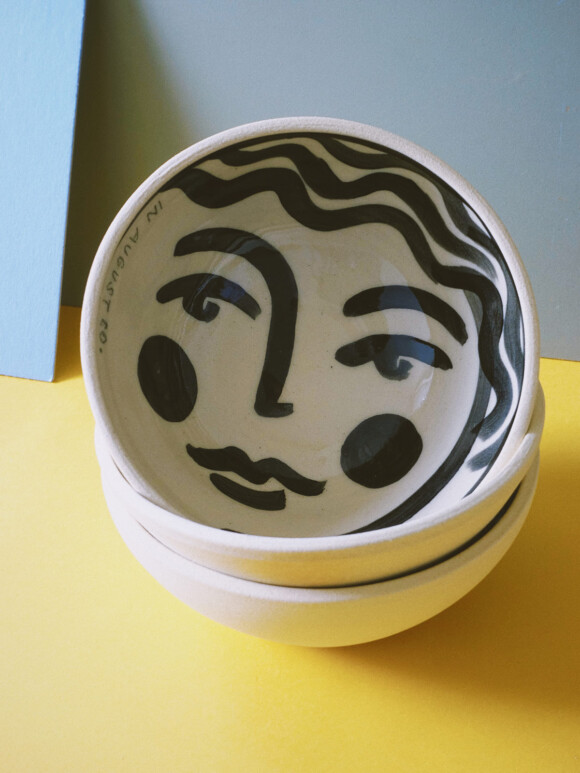 Faces breakfast bowl / Limited edition no.44