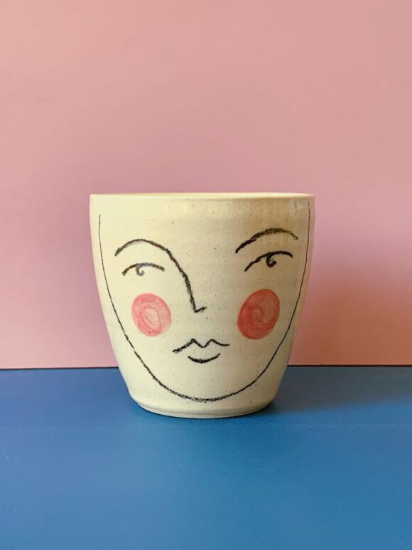Medium Faces mug / Limited edition no.63