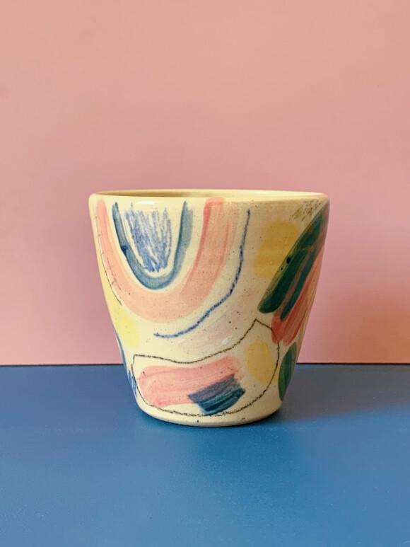 Medium Painted mug / Limited edition no.64
