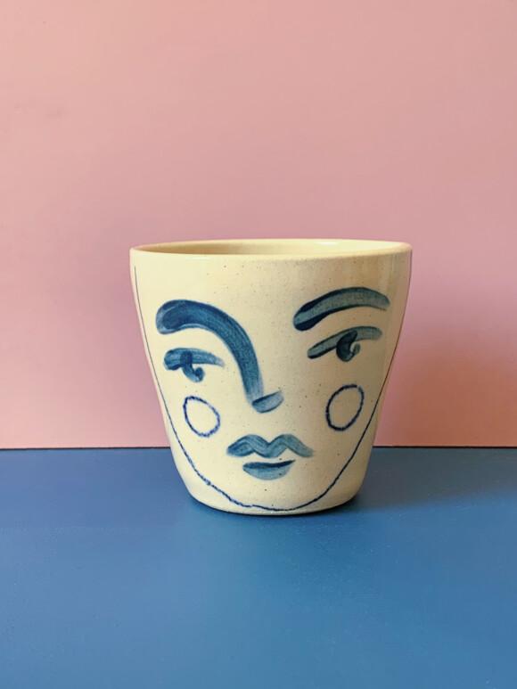 Medium Faces mug / Limited edition no.62