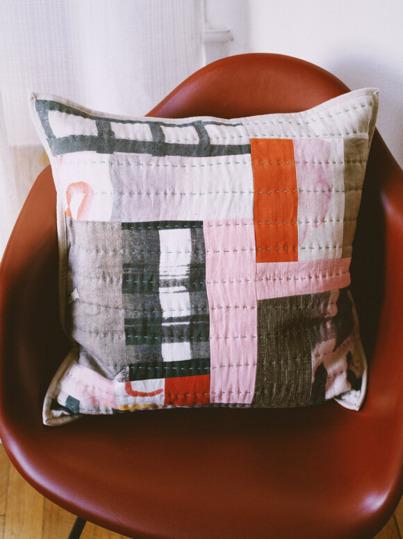 Quilted cushion no.7